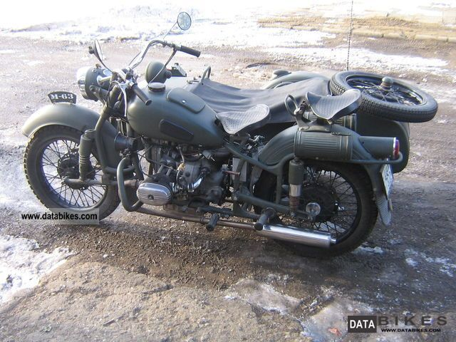 Ural M-63 (with sidecar) #2