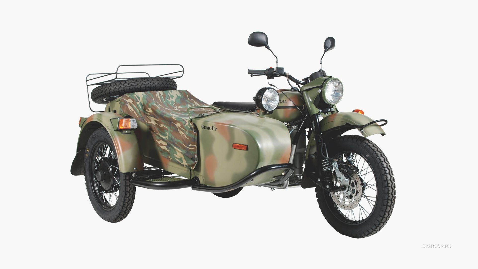 2011 Ural Snow Leopard Limited Edition #10
