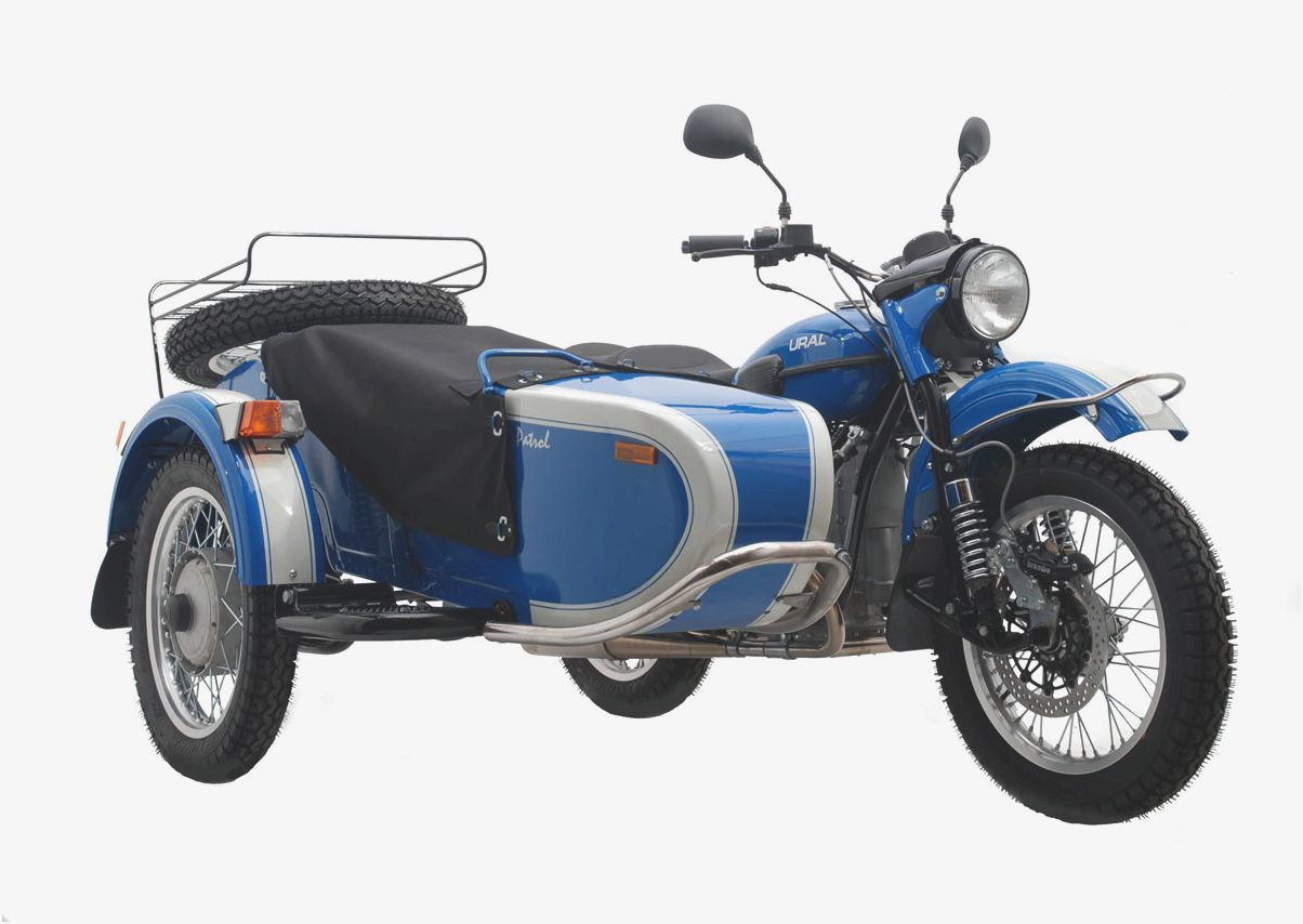 2011 Ural Wolf 750 Solo #4
