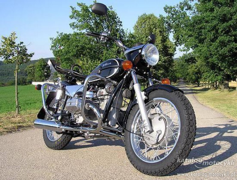 2011 Ural Wolf 750 Solo #6