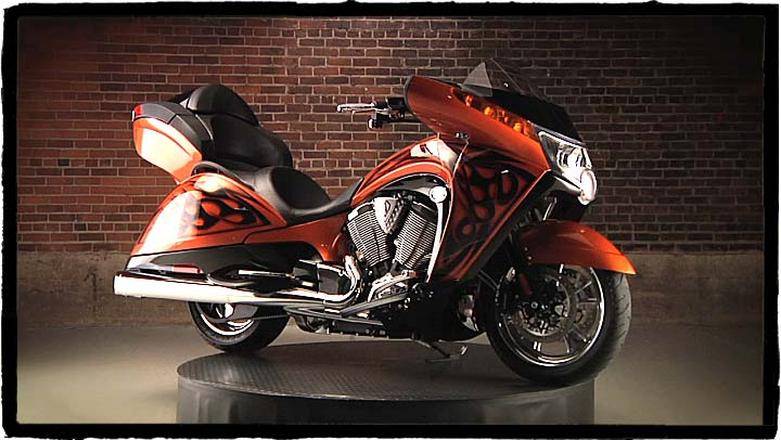 2011 Victory Arlen Ness Vision #7