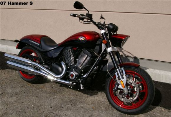2007 Victory Hammer S #8
