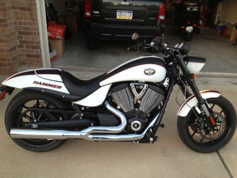 2008 Victory Hammer S #8