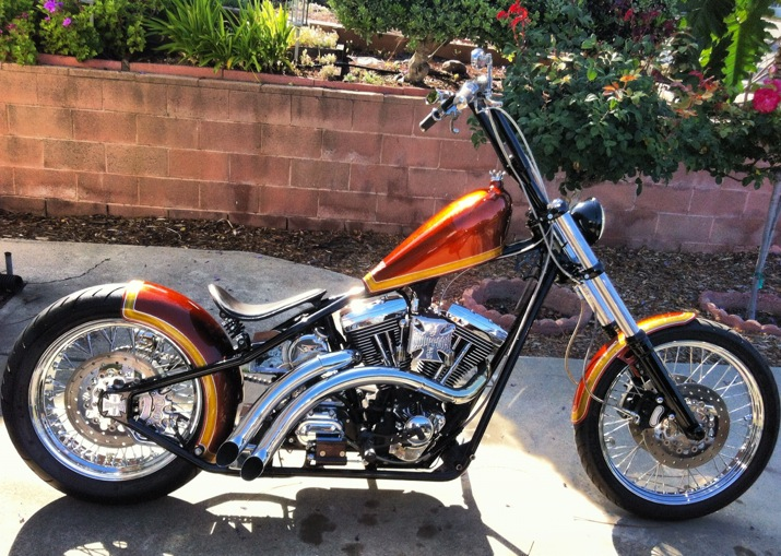 2010 West Coast Choppers CFL II #8