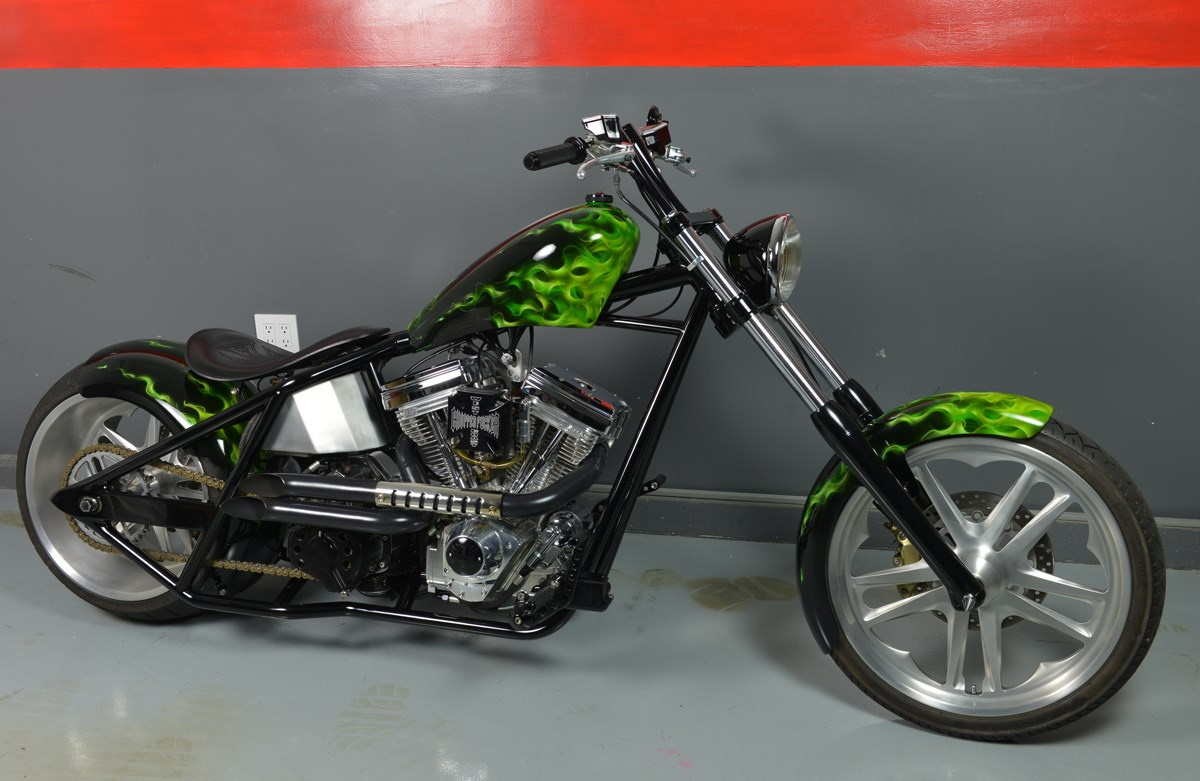 West Coast Choppers Dominator #9