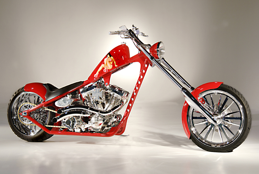 West Coast Choppers El Diablo Rigid #1