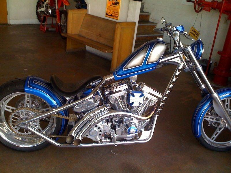 West Coast Choppers El Diablo Rigid #8