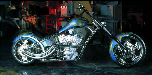 West Coast Choppers El Diablo Sturgis Special #6
