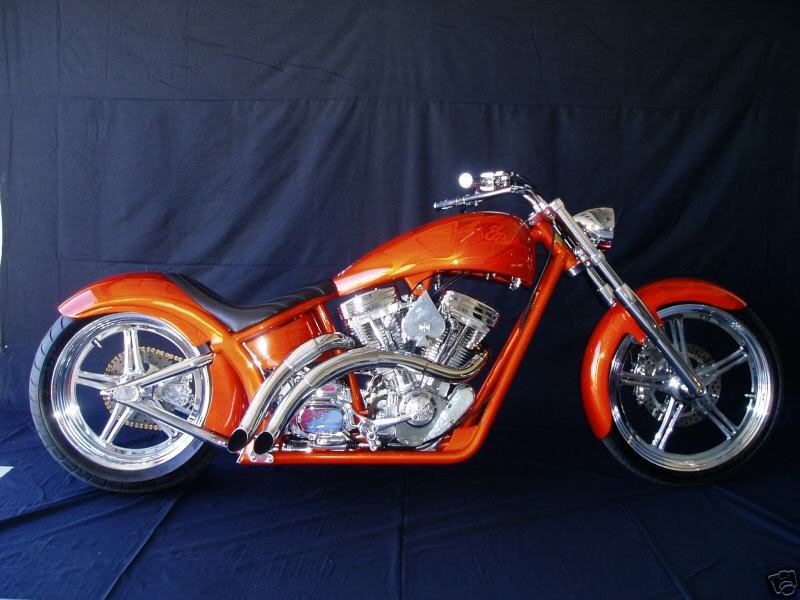 West Coast Choppers El Diablo Sturgis Special #8