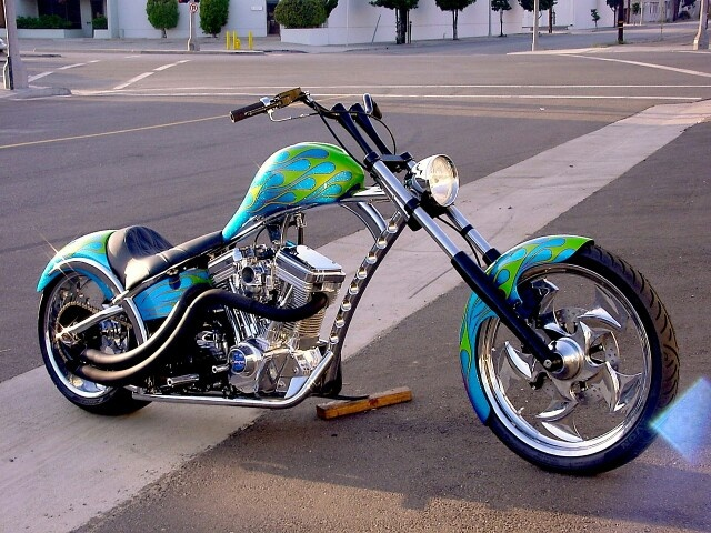 West Coast Choppers El Diablo Sturgis Special #1