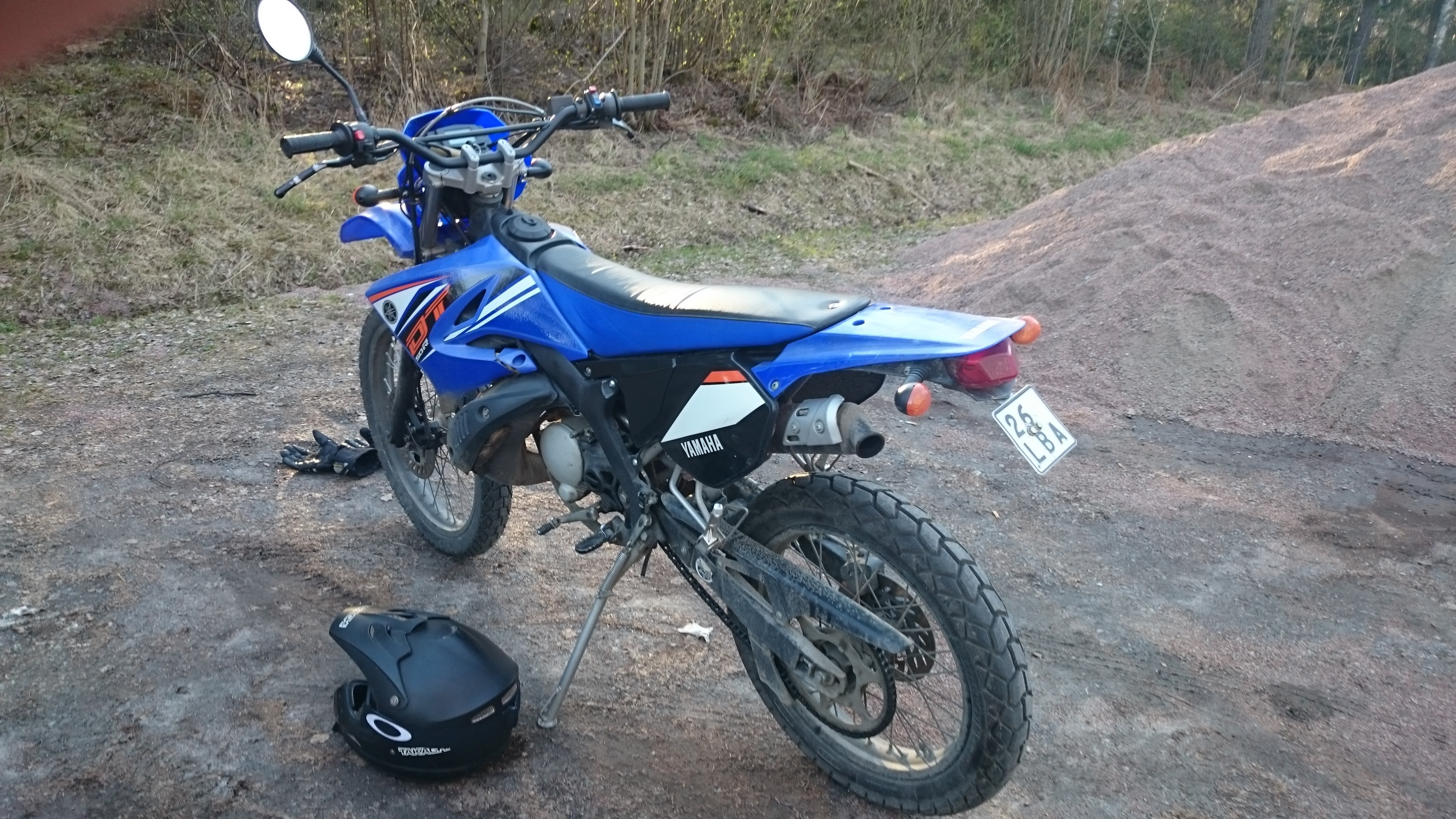 2011 Yamaha Dt 50 R Photos  Informations  Articles