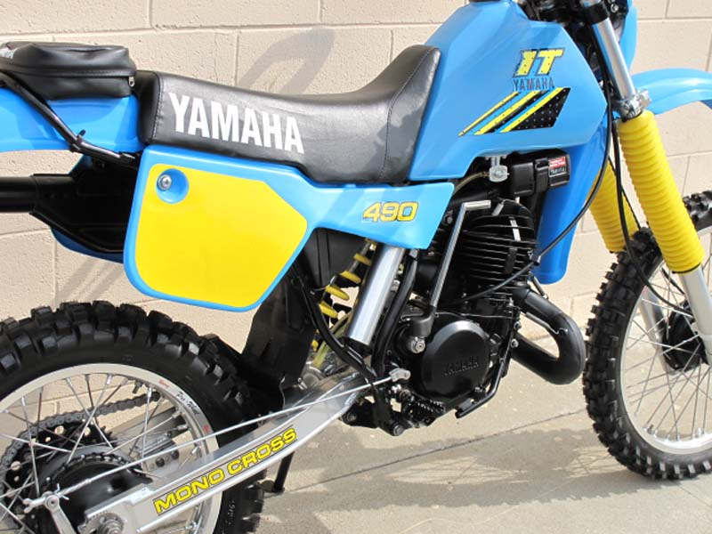 Yamaha IT 490 #9