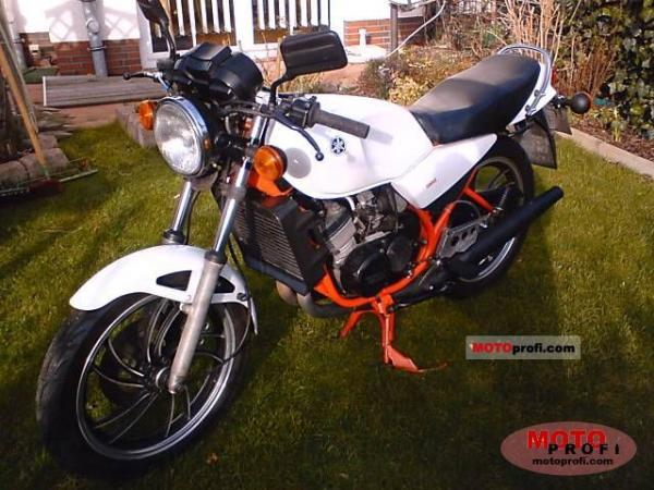 1982 Yamaha RD 250 LC (reduced effect) #5