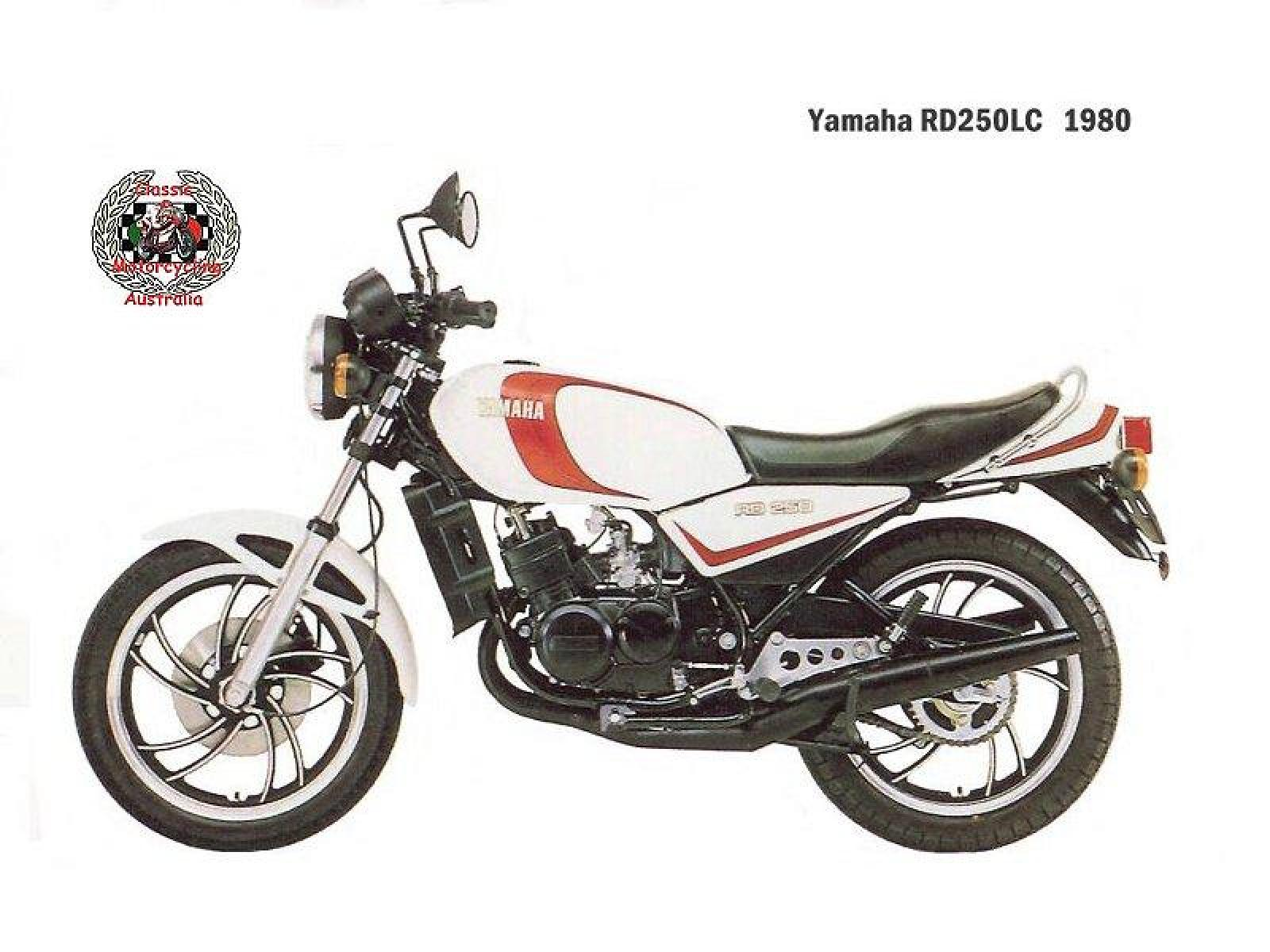 1982 Yamaha RD 250 LC (reduced effect) #2