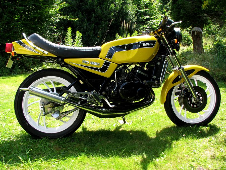 1983 Yamaha RD 250 LC (reduced effect) #8