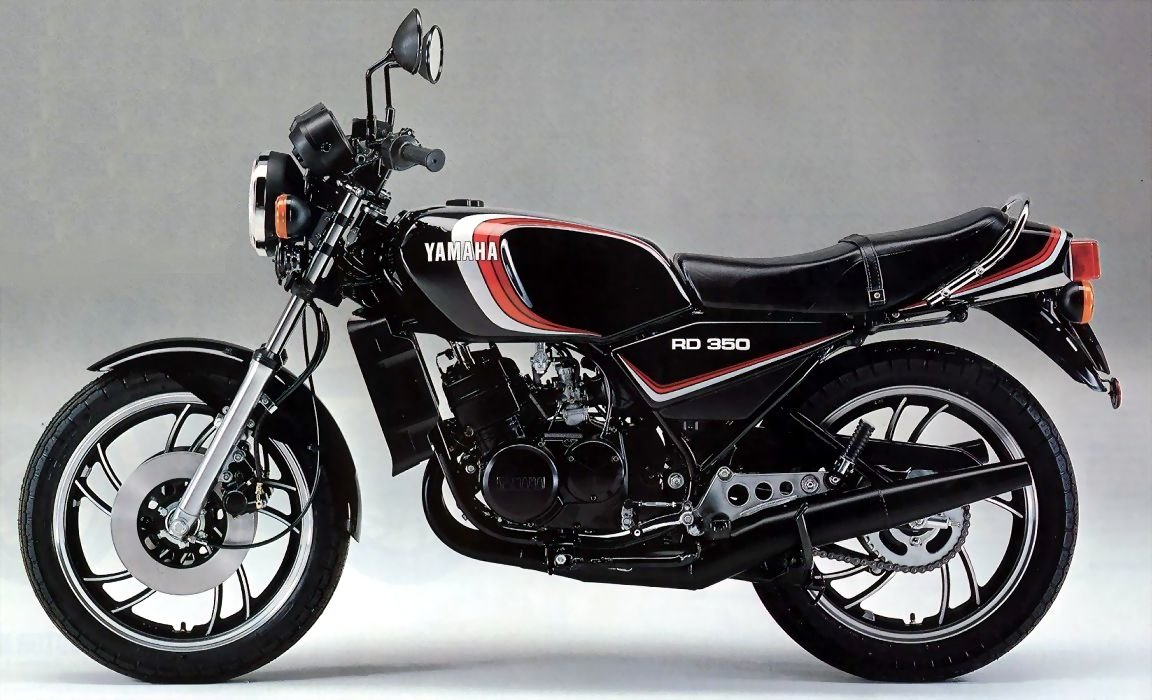1983 Yamaha RD 250 LC (reduced effect) #9