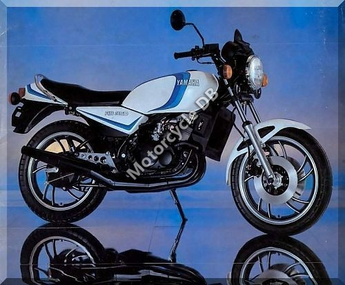 1983 Yamaha RD 250 LC (reduced effect) #6