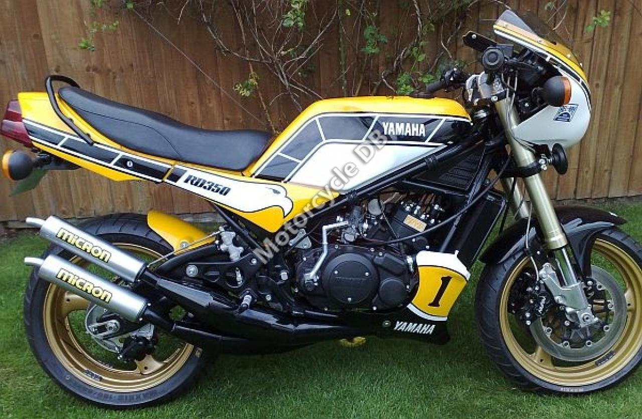 1983 Yamaha RD 250 LC (reduced effect) #5