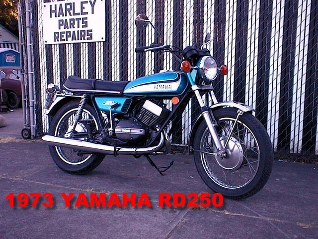 Yamaha RD 250 LC (reduced effect) #6