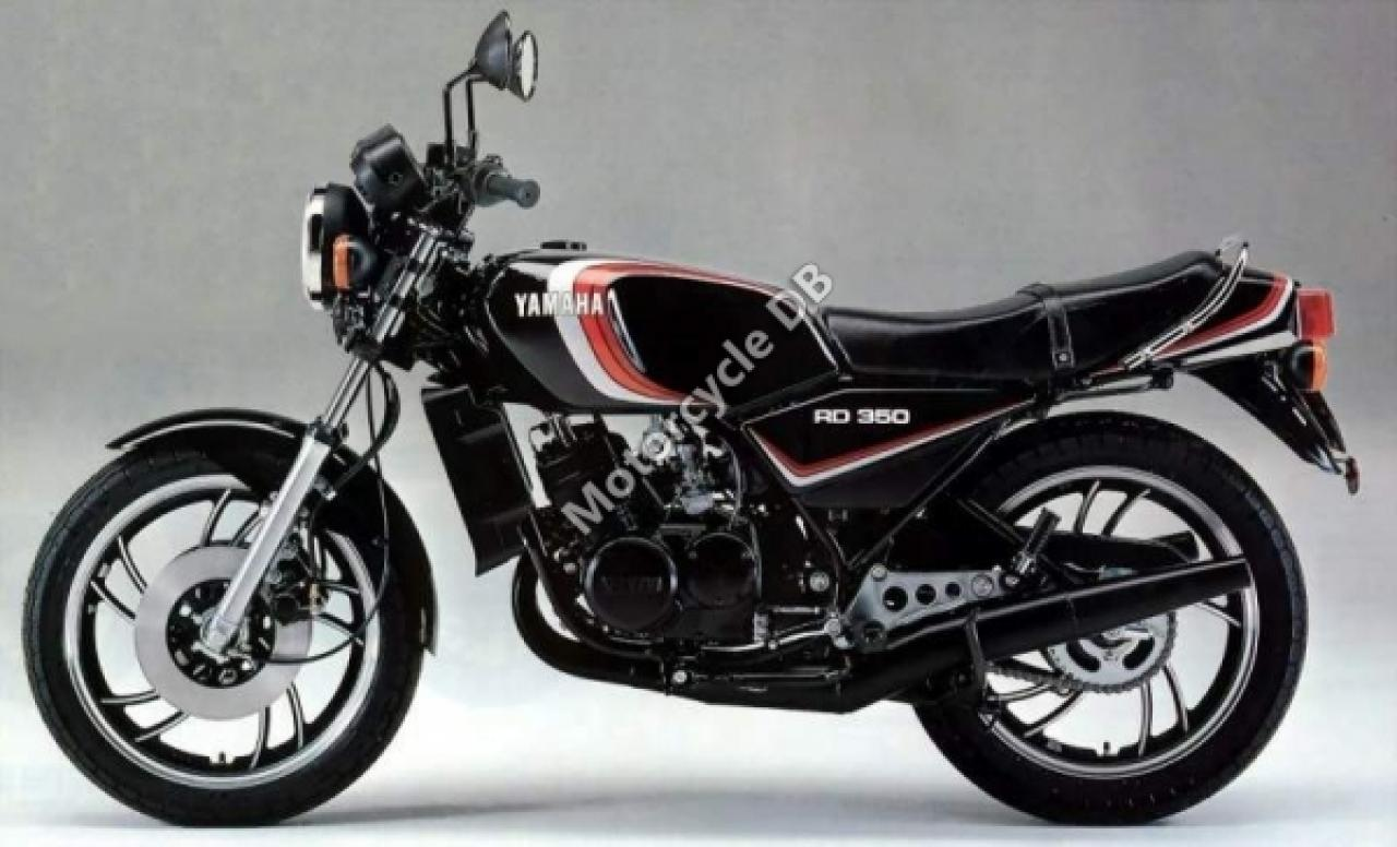 1989 Yamaha RD 350 F (reduced effect) #1