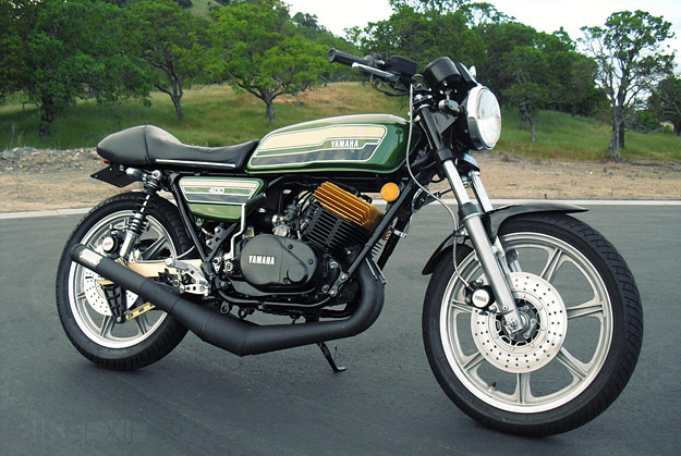 1989 Yamaha RD 350 F (reduced effect) #3