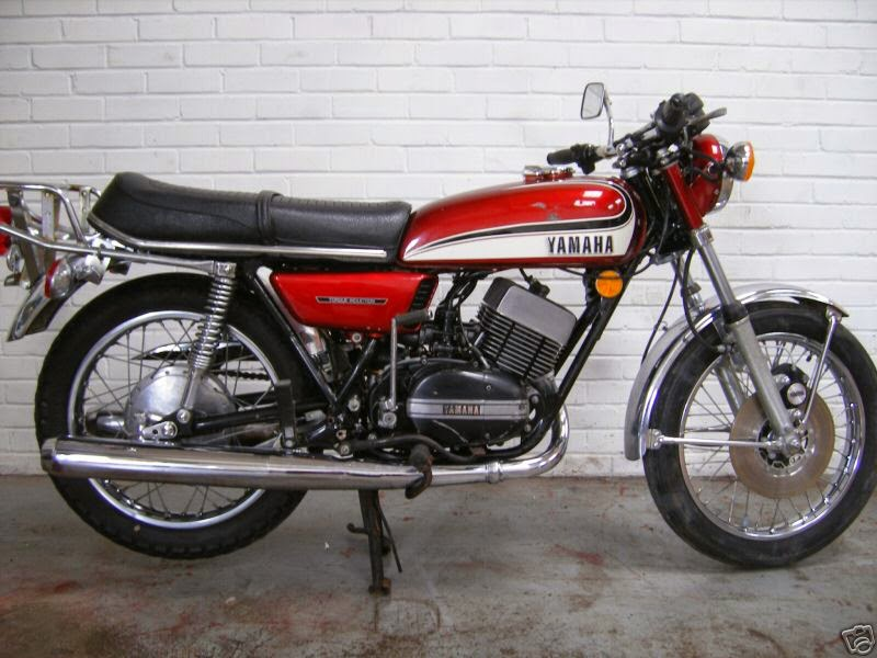 Yamaha RD 350 N (reduced effect) #3