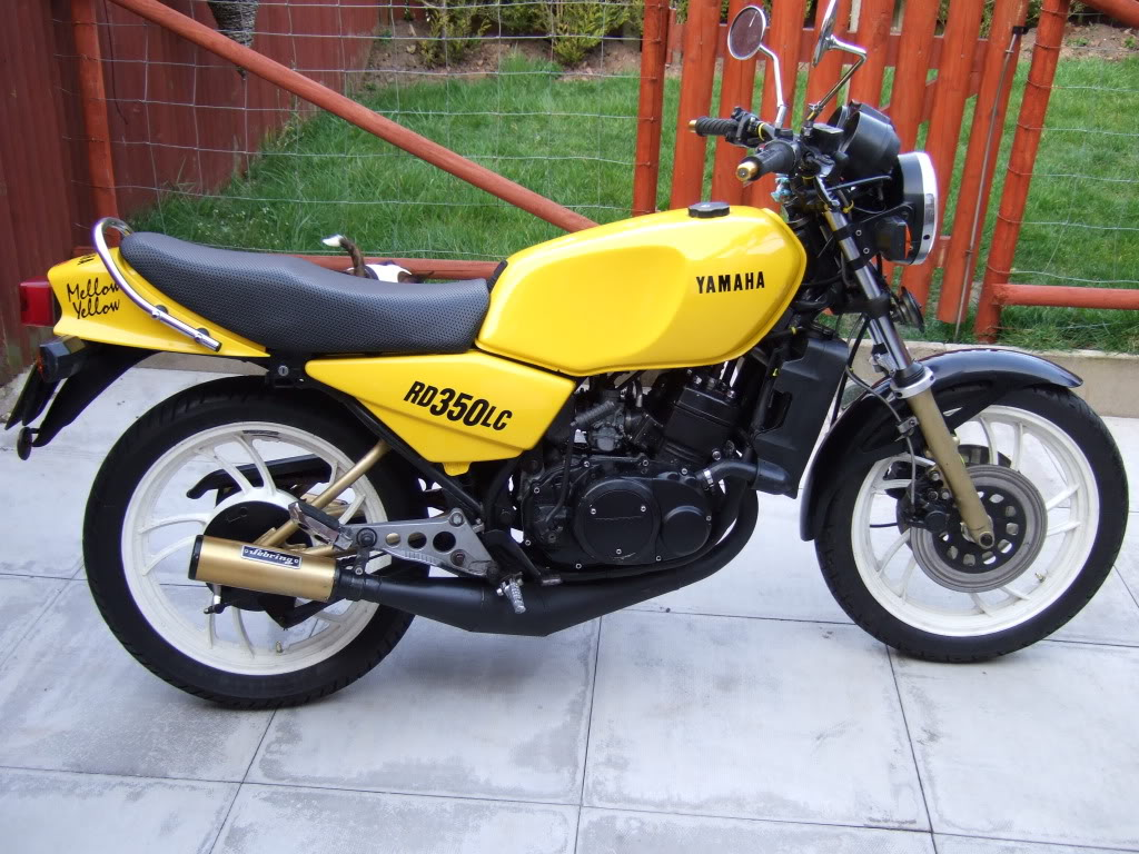 Yamaha RD 350 N (reduced effect) #1