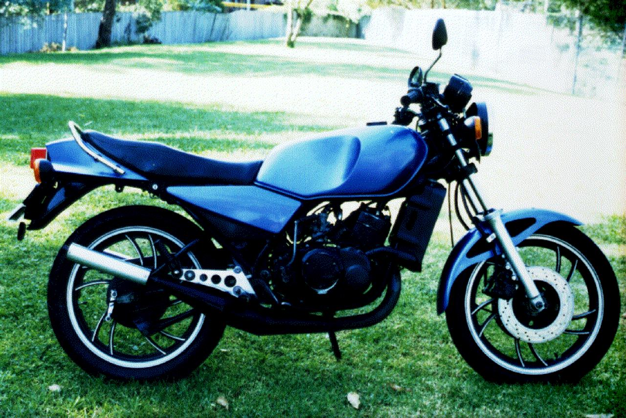 1986 Yamaha RD 350 (reduced effect) #3