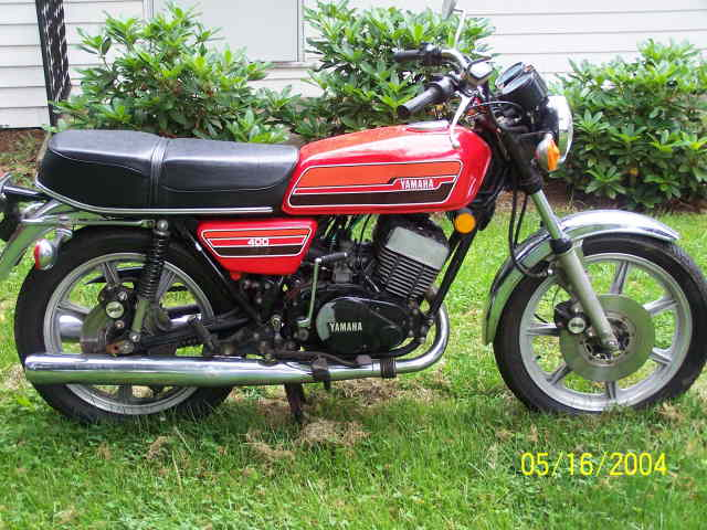 1986 Yamaha RD 350 (reduced effect) #7