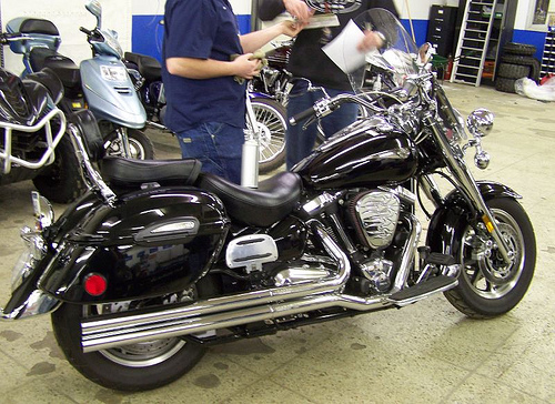 2006 Yamaha Road Star Midnight Silverado #7