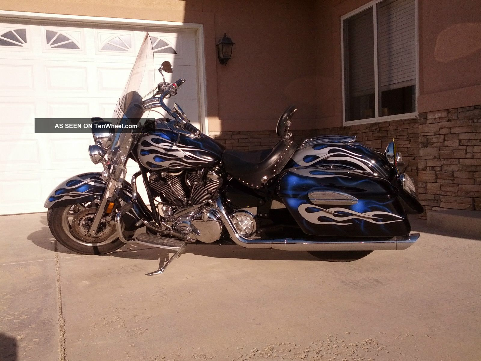2006 Yamaha Road Star Midnight #3
