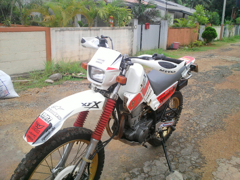 Yamaha Serow 225 WE #4