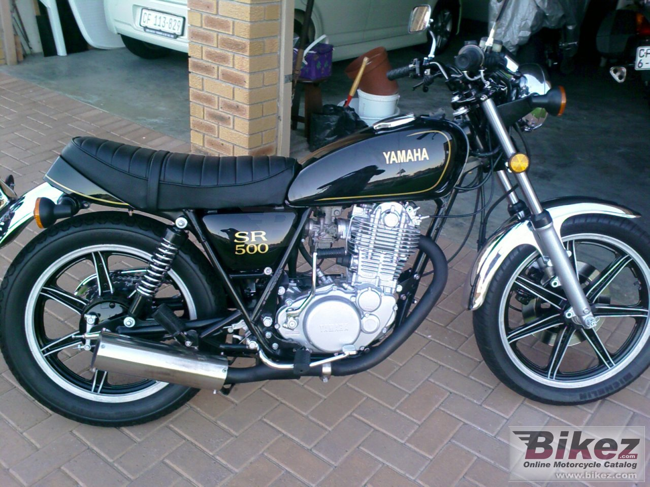 Yamaha SR 500 G (cast wheels) #2