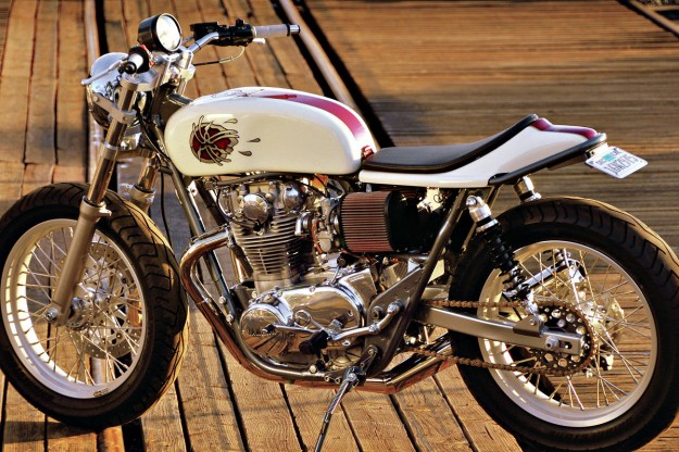 Yamaha SR 500 (reduced effect) #2