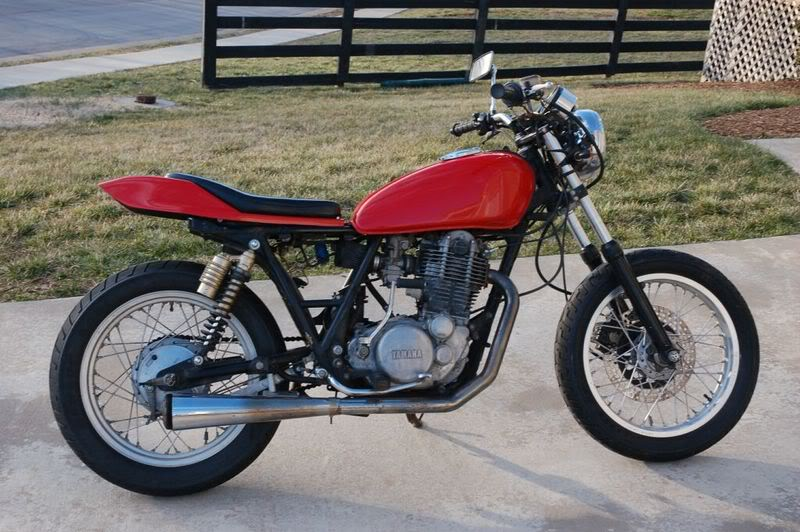 Yamaha SR 500 S (spoked wheels) #4