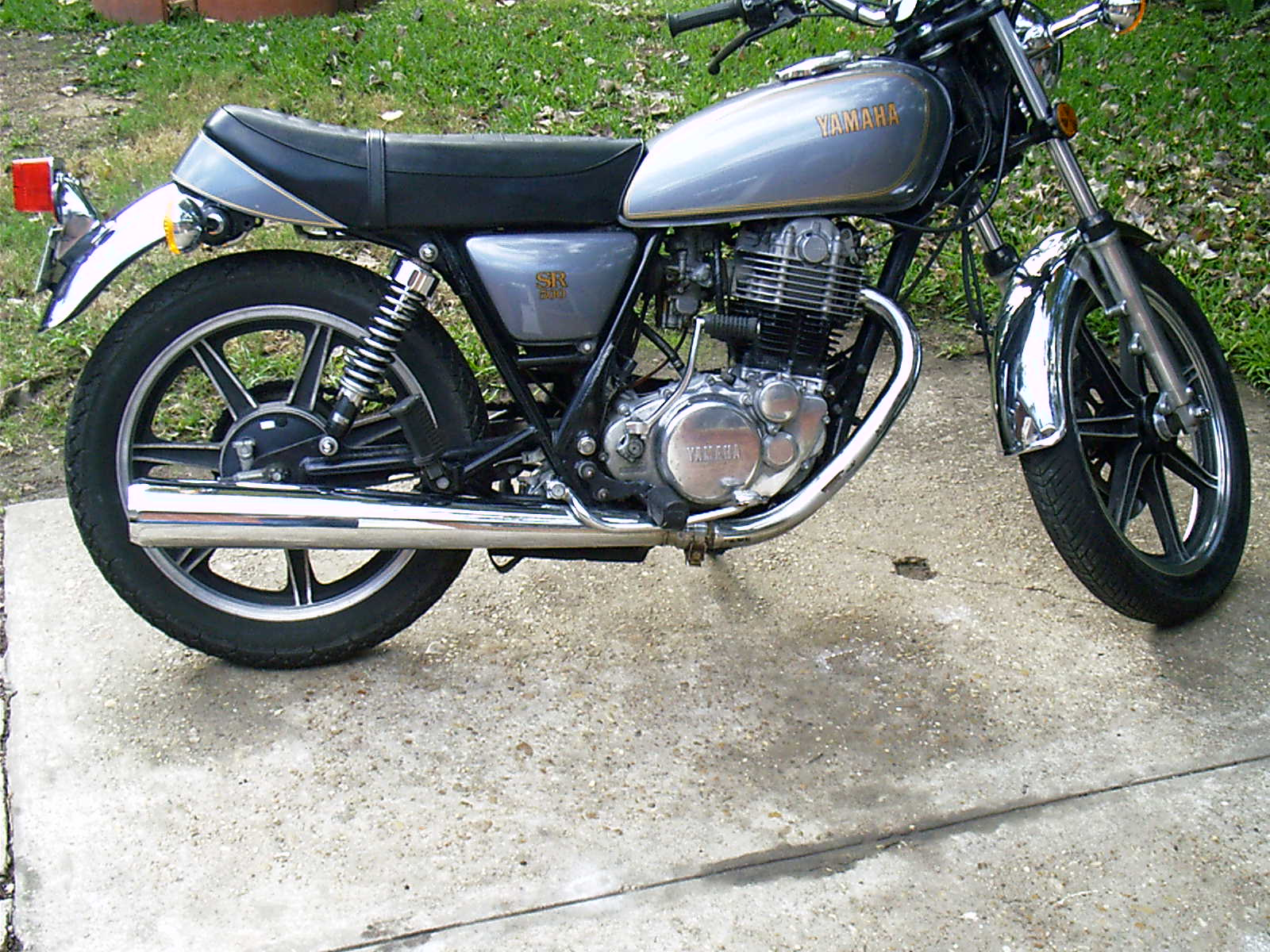 Yamaha SR 500 S (spoked wheels) #3