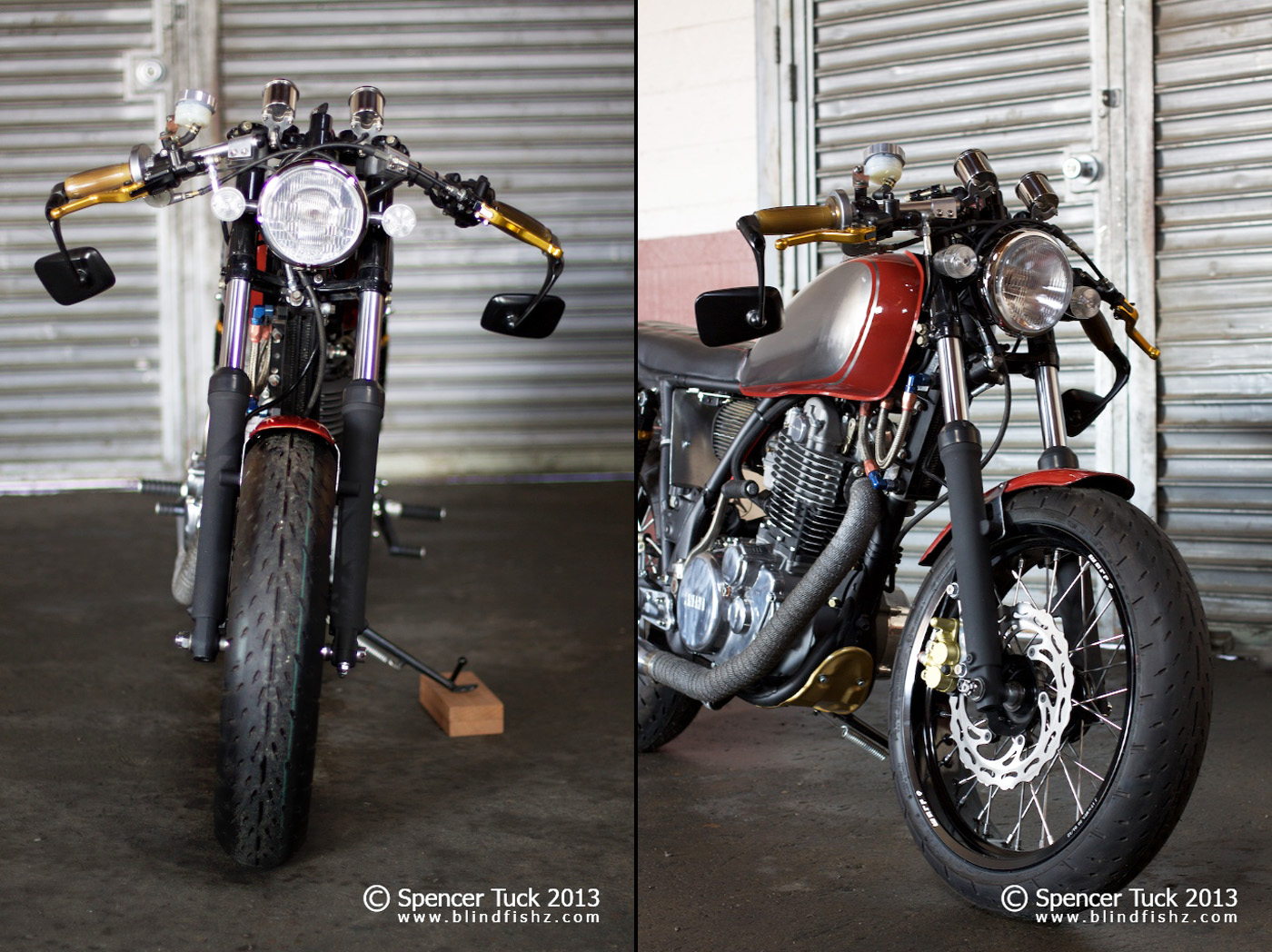 Yamaha SR 500 S (spoked wheels) #1