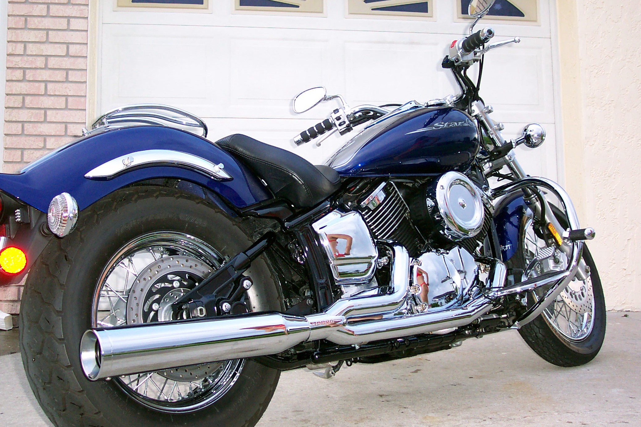 2008 Yamaha V Star 1100 Custom #8