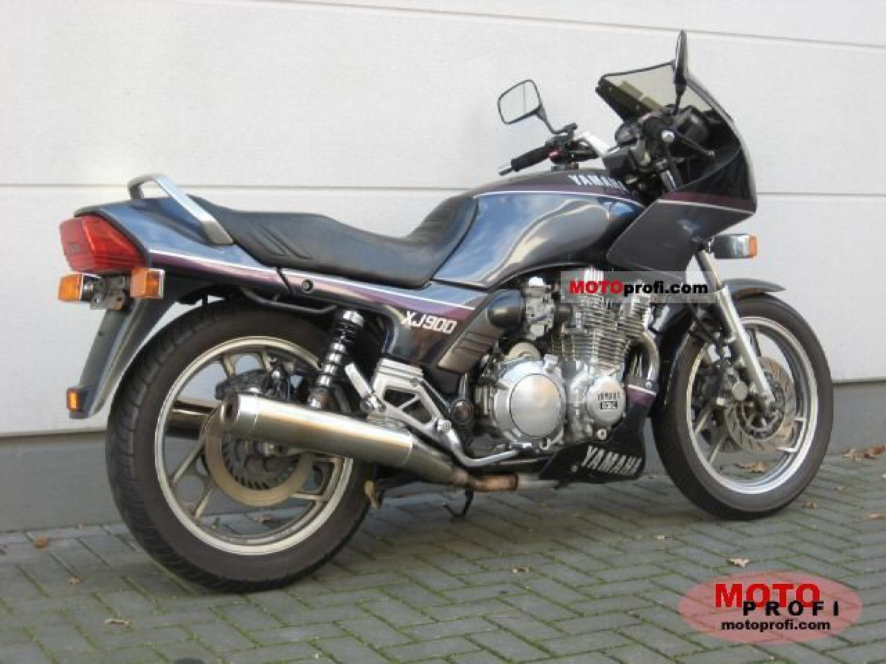 1987 Yamaha XJ 600 (reduced effect) #2