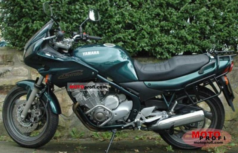 1987 Yamaha XJ 600 (reduced effect) #6