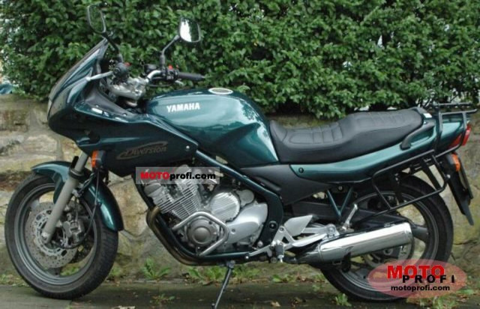 1991 Yamaha XJ 600 S Diversion (reduced effect) #1