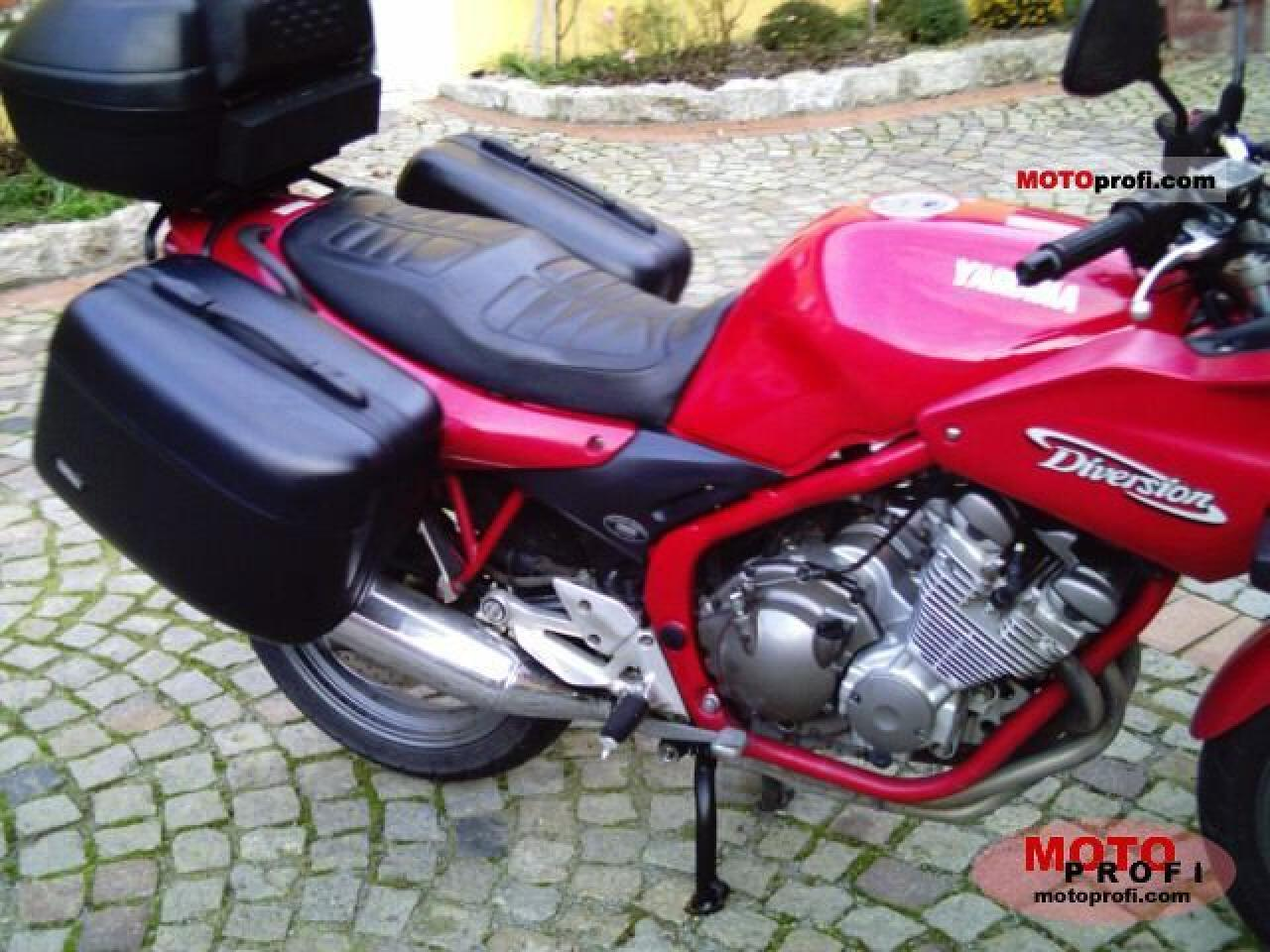 Yamaha XJ 600 S Diversion (reduced effect) #3