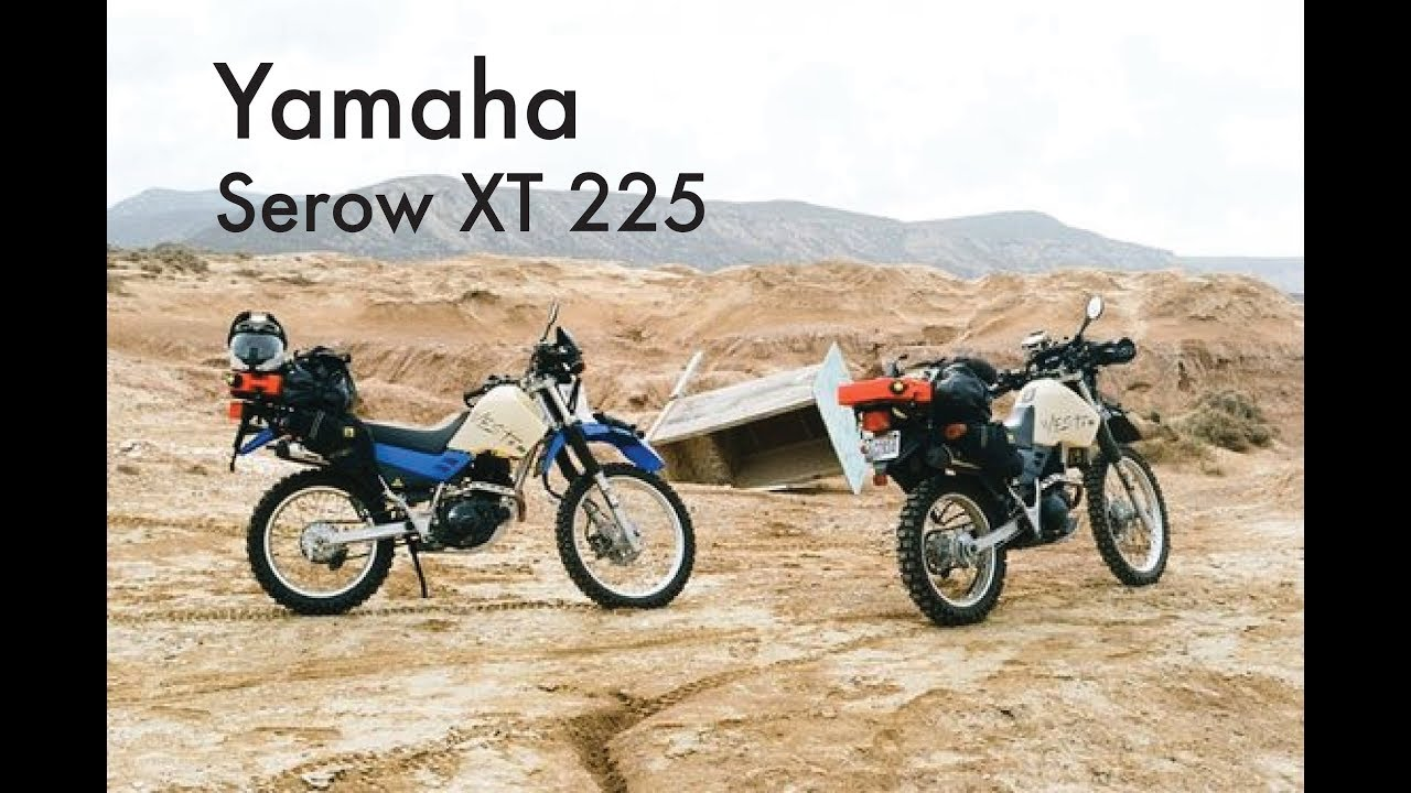 Yamaha XT 225 Serow #8