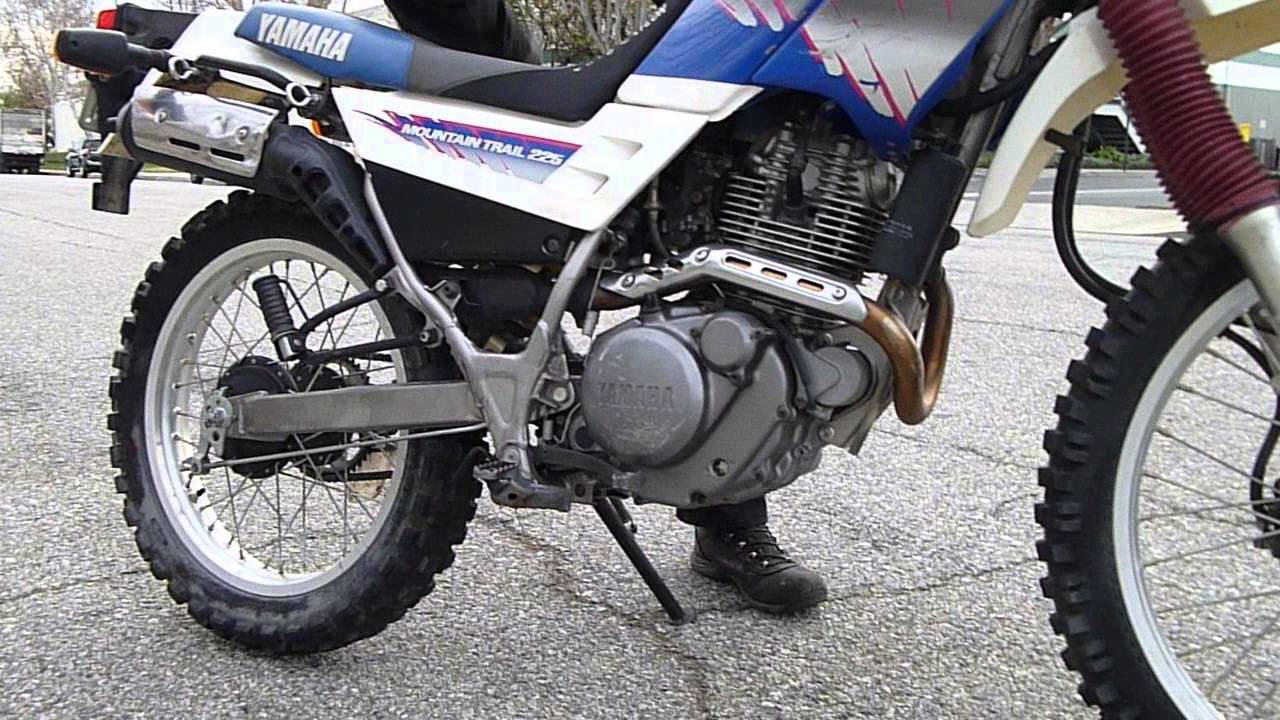 Yamaha XT 225 Serow #9