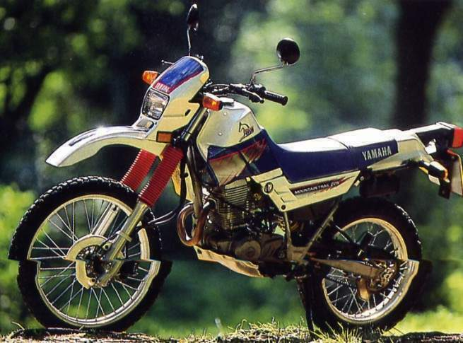Yamaha XT 225 Serow #4