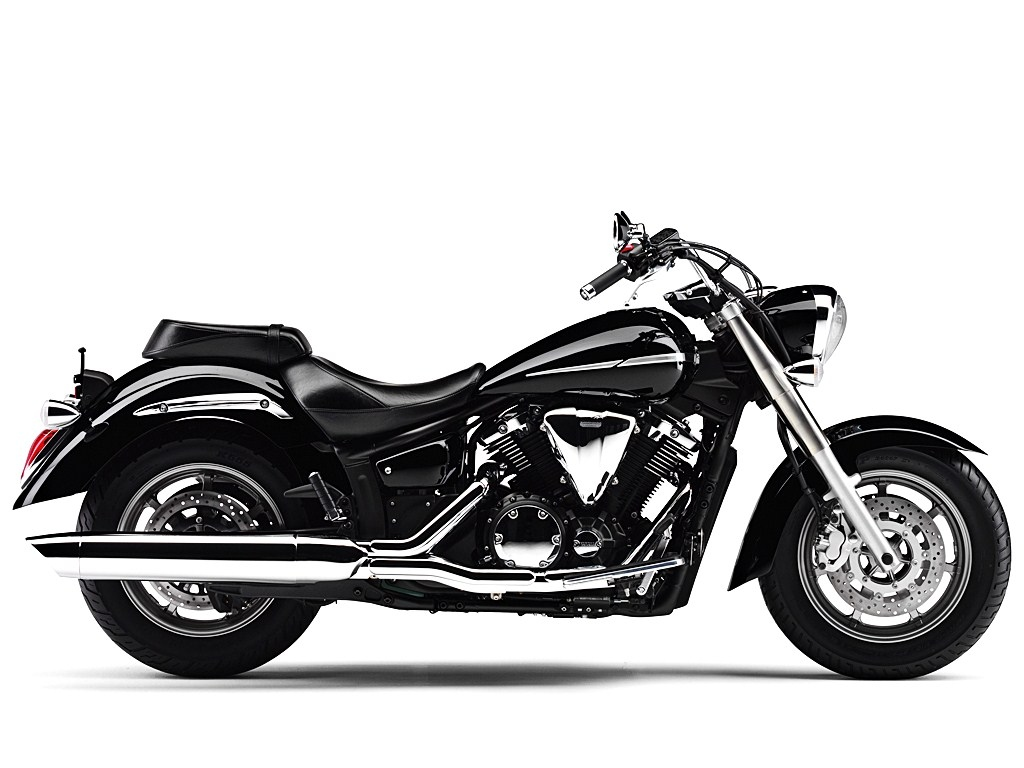 2010 Yamaha XVS 1300 A Midnight Star #4